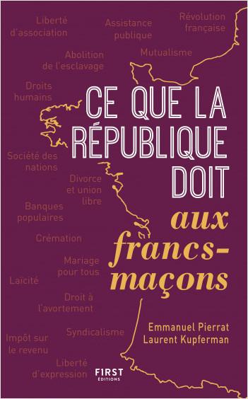 Ce que la République  doit aux francs-maçons, 2e édition