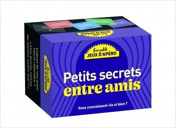 Jeu-Les petits jeux d'apéro - Petits Secrets entre amis : des confidences, aveux et beaucoup de fous-rires pour animer vos soirées !