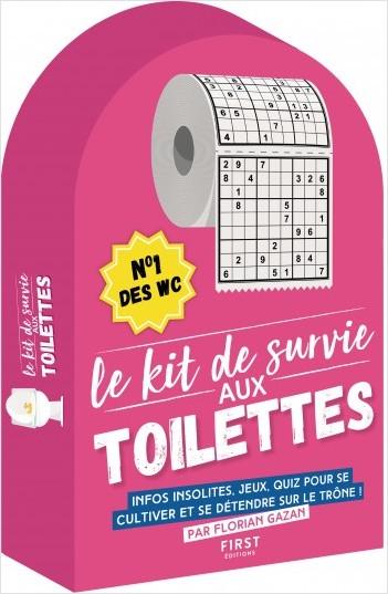 Le Kit de survie aux toilettes - n°1 des WC, infos insolites, jeux, quiz, pour se cultiver et se détendre sur le trône