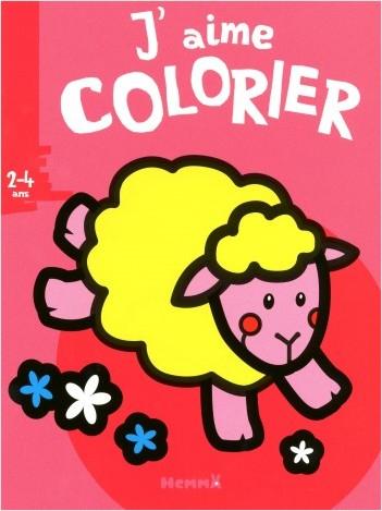 J'aime colorier (2-4 ans) mouton