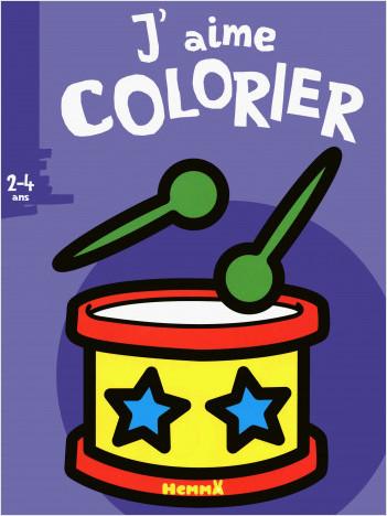 J'aime colorier (2-4 ans) tambour