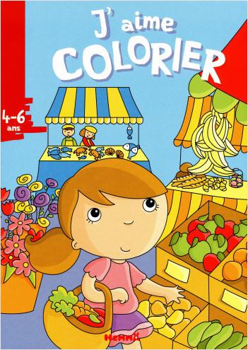 J'aime colorier (4-6 ans) marche