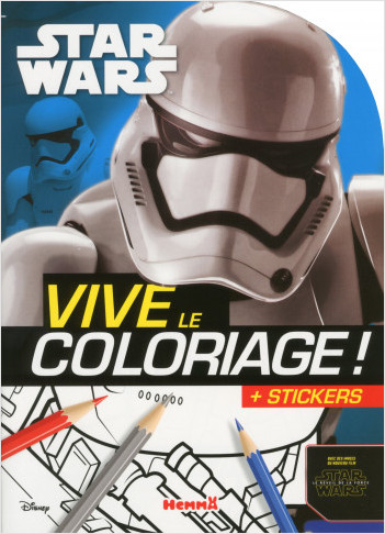 Disney Star Wars - Le Réveil de la Force Ep VII - Vive le coloriage
