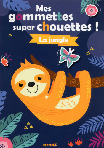 Mes gommettes super chouettes ! La jungle