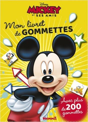 Disney Mickey et ses amis - Mon livret de gommettes