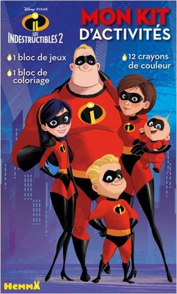 Disney Les Indestructibles 2 - Mon kit d'activités