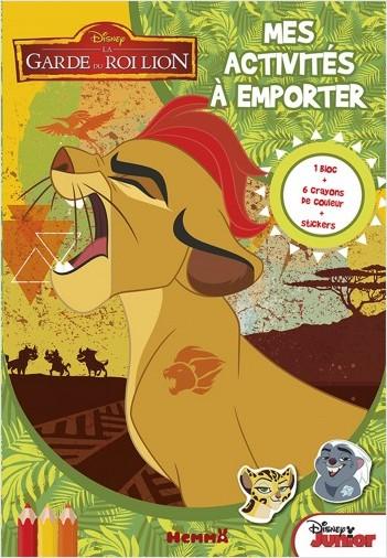 Disney La Garde du Roi Lion - Mes activités à emporter