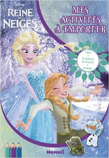 Disney La Reine des Neiges - Mes activités à emporter