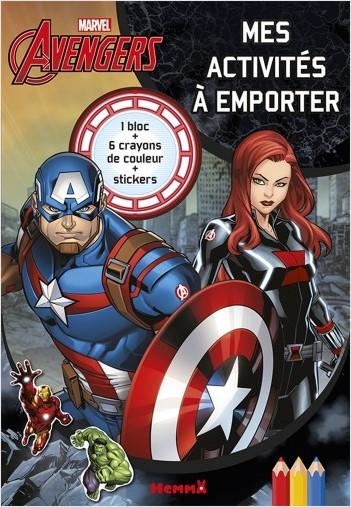 Marvel Avengers - Mes activités à emporter