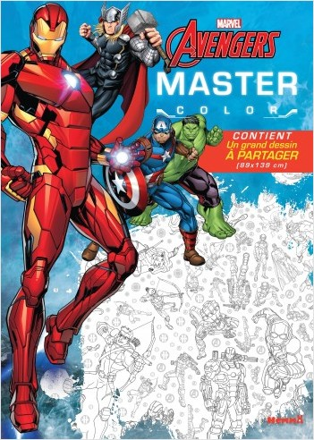DISNEY MARVEL AVENGERS MASTER COLOR