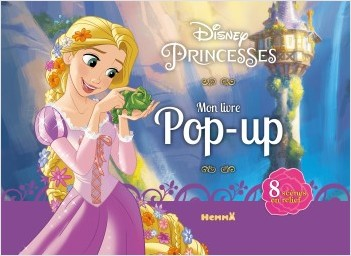 Disney Princesses - Mon livre pop-up