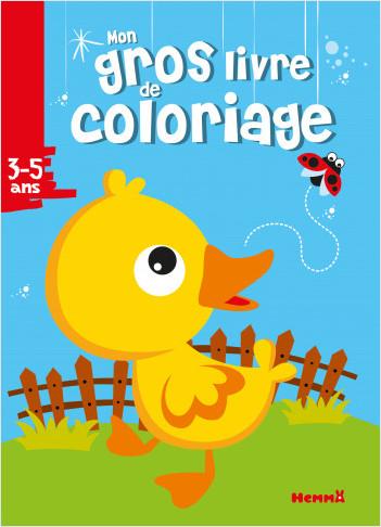 Mon gros livre de coloriage (canard)