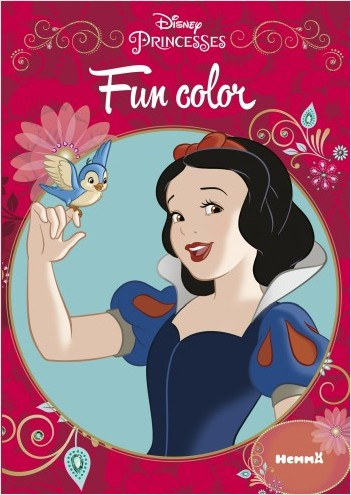 Disney Princesses - Fun color