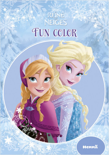Disney La Reine des Neiges - Fun color