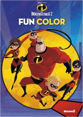 Disney Les Indestructibles 2 - Fun color