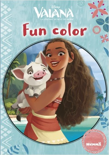Disney Vaiana - Fun color