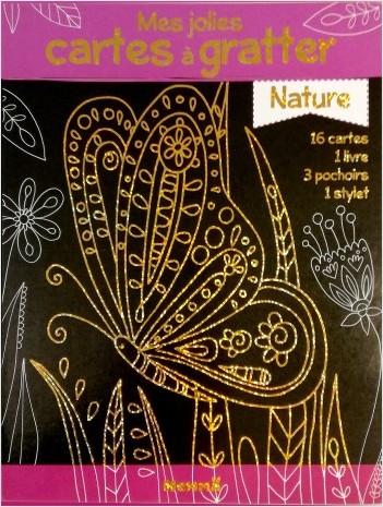 Mes jolies cartes à gratter - Nature