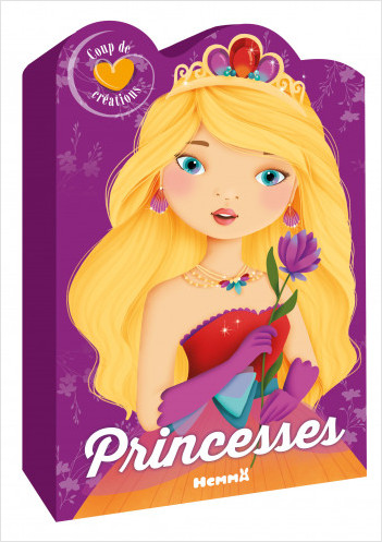 Coup de coeur créations - Princesses - Coffret silhouetté - dès 5 ans