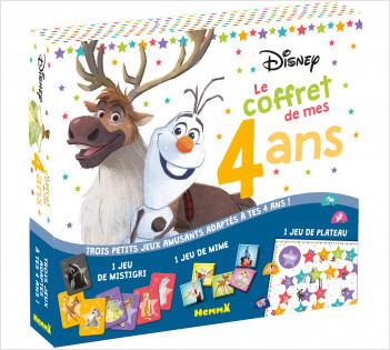 Disney - Le coffret de mes 4 ans - Coffret jeux - Dès 4 ans