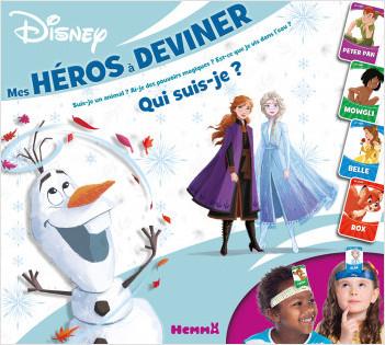 Disney - Mes héros à deviner - Coffret jeux - Dès 4 ans