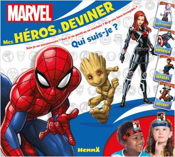 Marvel - Mes héros à deviner - Coffret jeux - Dès 6 ans