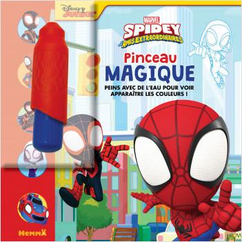 Marvel Spidey et ses amis extraordinaires – Pinceau magique – Livre avec pinceau magique – dès 3 ans