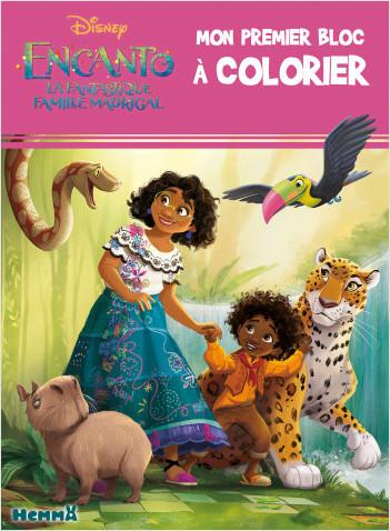 Disney Encanto – Mon premier bloc à colorier – Livre de coloriage – Dès 3 ans