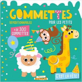 Mon P'tit Hemma - Gommettes pour les petits - C'est la fête ! - Livre de gommettes repositionnables - Dès 3 ans
