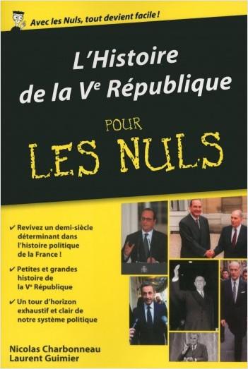 L'Histoire de la Ve République poche pour les Nuls