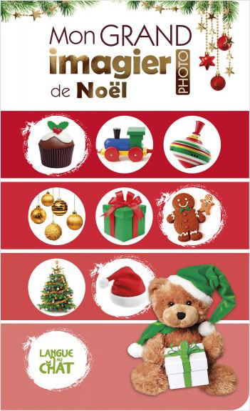 Mon grand imagier de Noël - Livre d'éveil cartonné - Jolies photos - Dès 6 mois