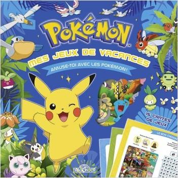 Pokémon - Mes jeux de vacances - Pochette de cartes - Dès 6 ans