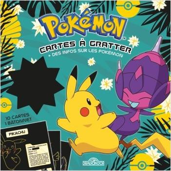 Pokémon – Cartes à gratter + des infos sur les Pokémon