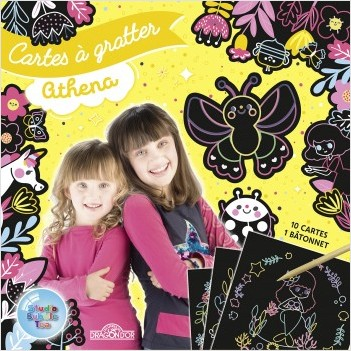 Studio Bubble Tea - Cartes à gratter - Athena