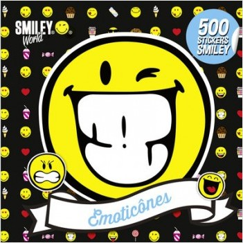 Smiley - Livre d'autocollants - 500 stickers Smiley - Émoticônes - Dès 3 ans