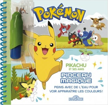 Pokémon - Pinceau magique - Pikachu et ses amis