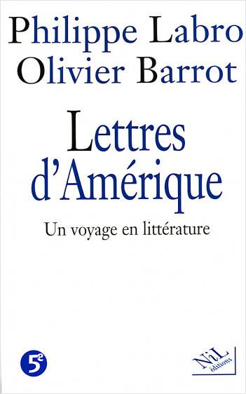 Lettres d'Amérique - Un voyage en littérature