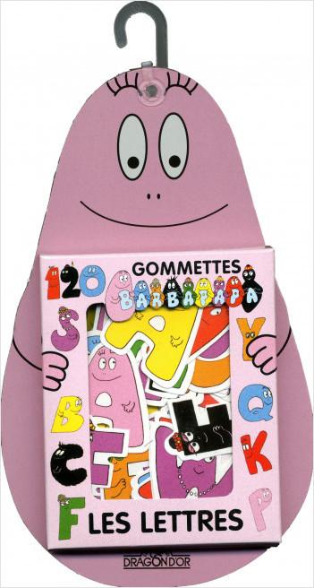 Gommettes Barbapapa - Les Lettres