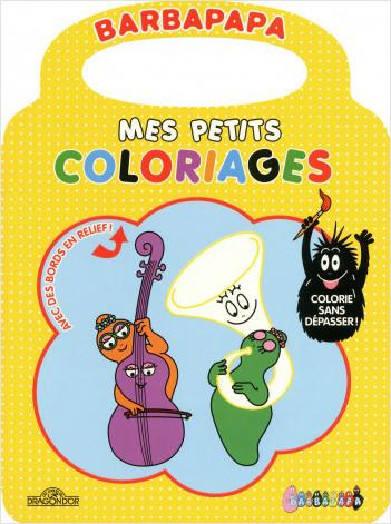 Barbapapa - Mes petits coloriages - Jaune