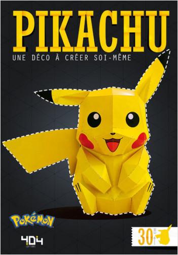 Papertoy Pikachu - Une déco à créer soi-même