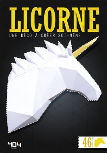 Papertoy Licorne - Une déco à créer soi-même
