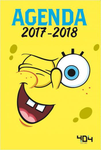 Agenda Bob l'éponge 2017-2018