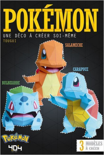 Papertoy Pokémon - Une déco à créer soi-même