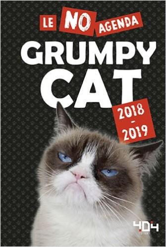 Agenda Grumpy Cat 2018-2019